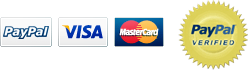 Accepting PayPal, Visa, MasterCard